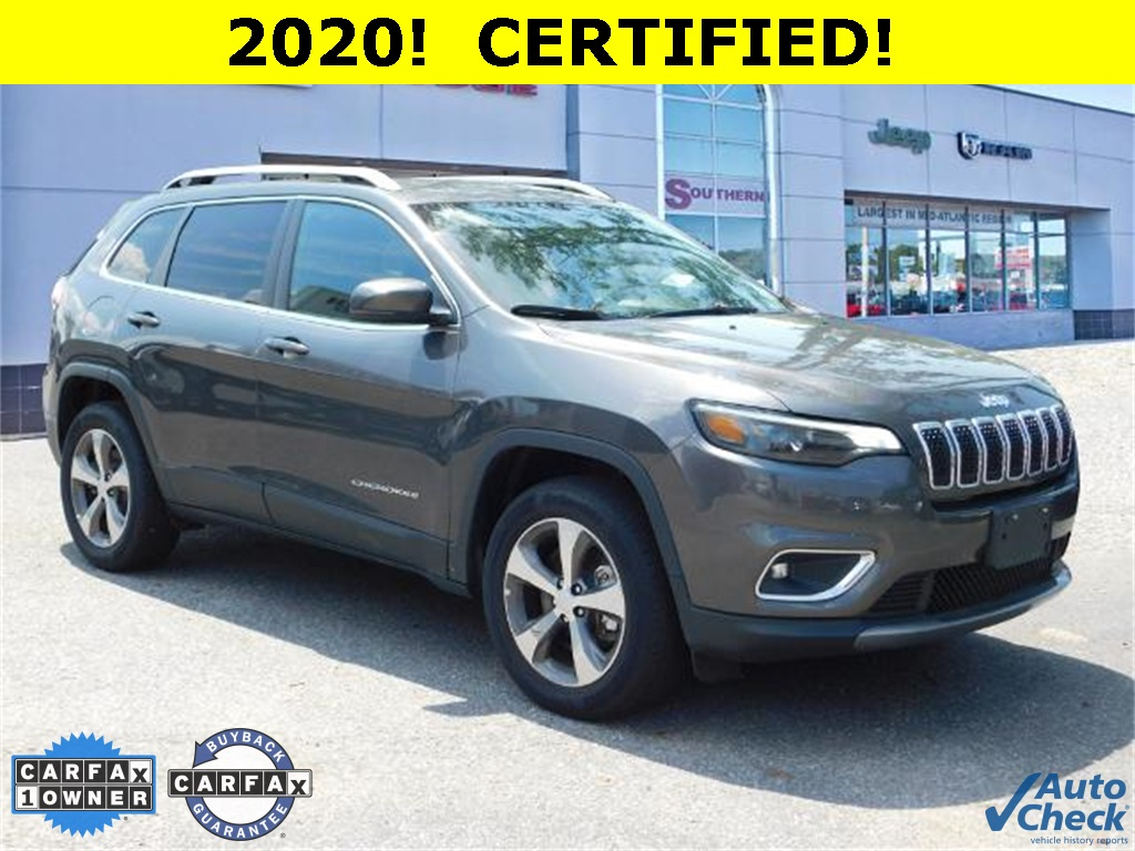 Pre-Owned 2020 Jeep Cherokee Limited