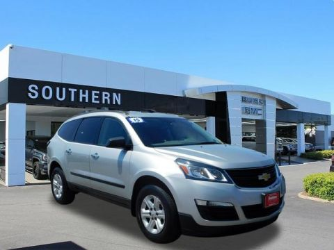 Certified Pre-Owned 2015 Chevrolet Traverse LS