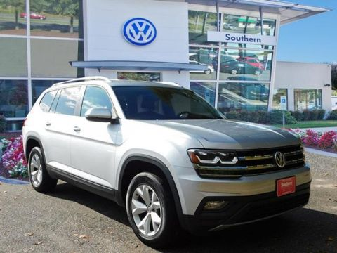Certified Pre-Owned 2018 Volkswagen Atlas SE 4Motion